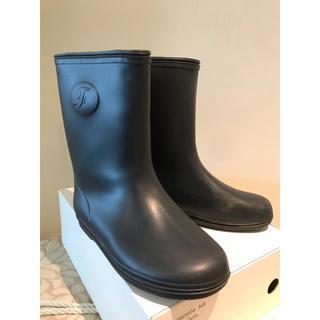 familiar - ファミリア 長靴 レインブーツ 紺
