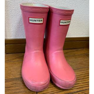 ハンター(HUNTER)のHunter ハンター 長靴 レインブーツ キッズ ピンク(長靴/レインシューズ)