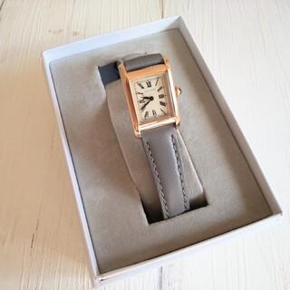 ユナイテッドアローズ(UNITED ARROWS)の【UNITED ARROWS】スクエアレザーベルト腕時計(腕時計)