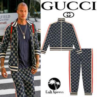 Gucci - GUCCI グッチ GGジャガード コットン ジャケット S 正規品 美中古品