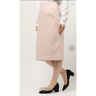 マルティニークルコント(martinique Le Conte)のmartinique/ダブルクロスサイドラインタイトスカート サイズ2(ロングスカート)