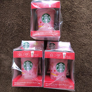 スターバックスコーヒー(Starbucks Coffee)のスターバックス スタバ オリガミ リユーザブルカップ スプリング ブレンド(コーヒー)