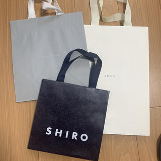 シロ(shiro)のshiro SHIRO ショップ袋(ショップ袋)