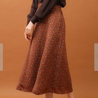 グリーンパークス 花柄 ロングスカート  ♡