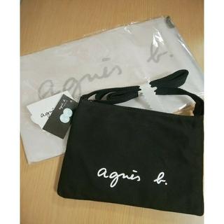 agnes b. - 新品⭐アニエスベーサコッシュ ブラック