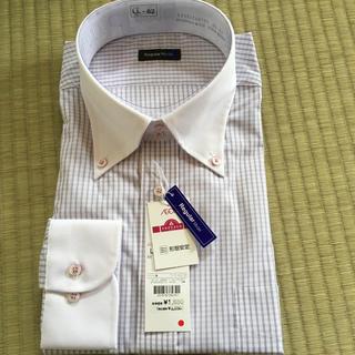 イオン(AEON)のメンズドレスシャツ 長袖 形状安定(シャツ)