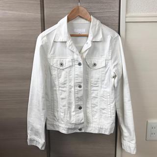 UNIQLO ホワイトデニムジャケット