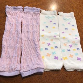 Combi mini - ☆未使用☆ コンビ ミニ ベビー レッグウォーマー 靴下 リボン 花柄 ホワイト