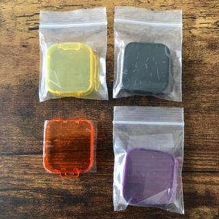ゴープロ(GoPro)のGo Pro レンズ用 カラーフィルター 4色(フィルター)