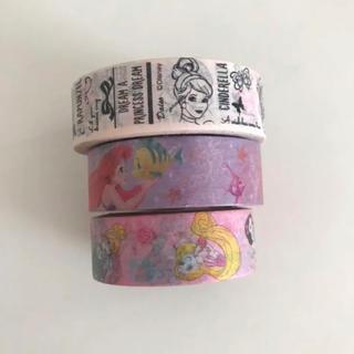 ディズニー(Disney)のディズニープリンセス マスキングテープ(テープ/マスキングテープ)