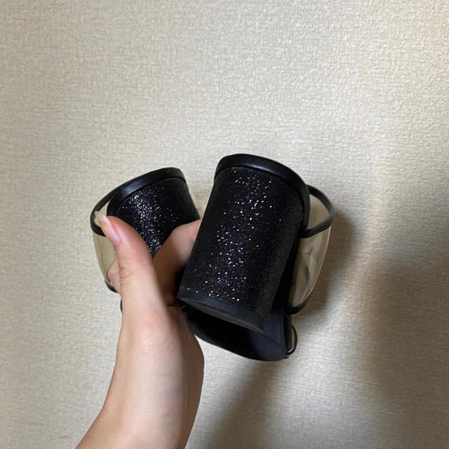 GU(ジーユー)のGU クリアサンダル レディースの靴/シューズ(サンダル)の商品写真