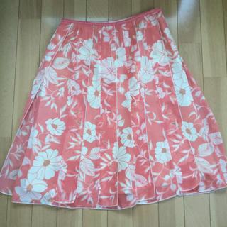 ベルメゾン(ベルメゾン)のベルメゾン 花柄スカート(ひざ丈スカート)
