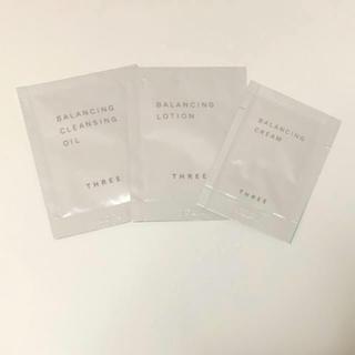スリー(THREE)のTHREE バランシング クレンジング 化粧水(サンプル/トライアルキット)