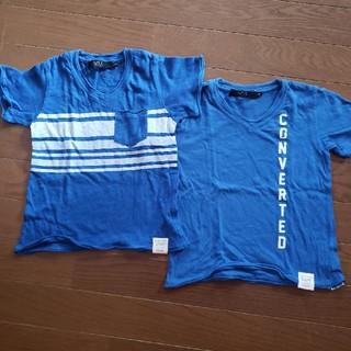 アズールバイマウジー(AZUL by moussy)のAZUL BY MOUSSY Tシャツ 100 2枚セット(Tシャツ/カットソー)