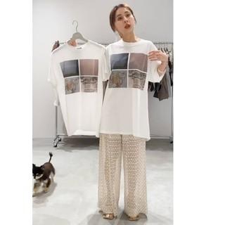 アメリヴィンテージ(Ameri VINTAGE)の【新品】 アメリヴィンテージ ウィンダンシーコラボTシャツ(Tシャツ(半袖/袖なし))