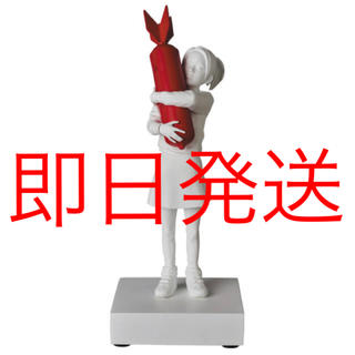 MEDICOM TOY - メディコム・トイ バンクシー BOMB HUGGER RED BOMB Ver.
