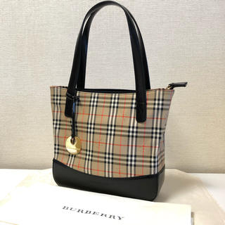 BURBERRY - BURBERRY 美品トートバッグ