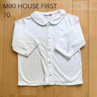 mikihouse - ミキハウス ブラウス 70