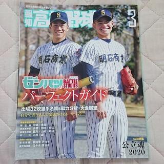 報知高校野球2020年3月号(趣味/スポーツ)