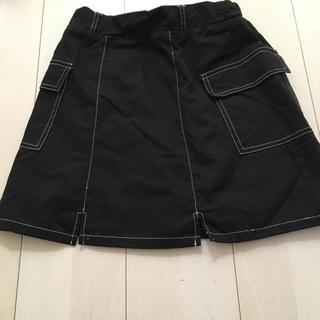 WEGO - WEGO ブラックデニムスカート