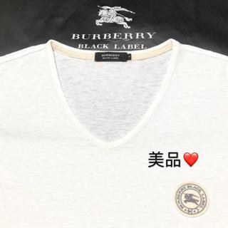 BURBERRY - 一回着用 バーバリーブラックレーベル Tシャツ3