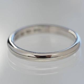 ブルガリ(BVLGARI)の質屋出品ii BVLGARI ブルガリ プラチナシンプルリング Pt950(リング(指輪))
