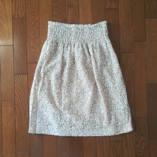IENA - 美品 IENA イエナ レーススカート ホワイト