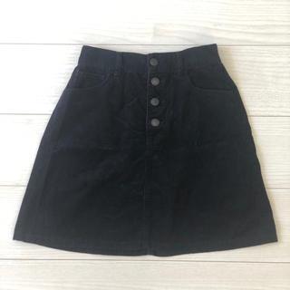 ウィゴー(WEGO)のコーデュロイAラインスカート (ミニスカート)