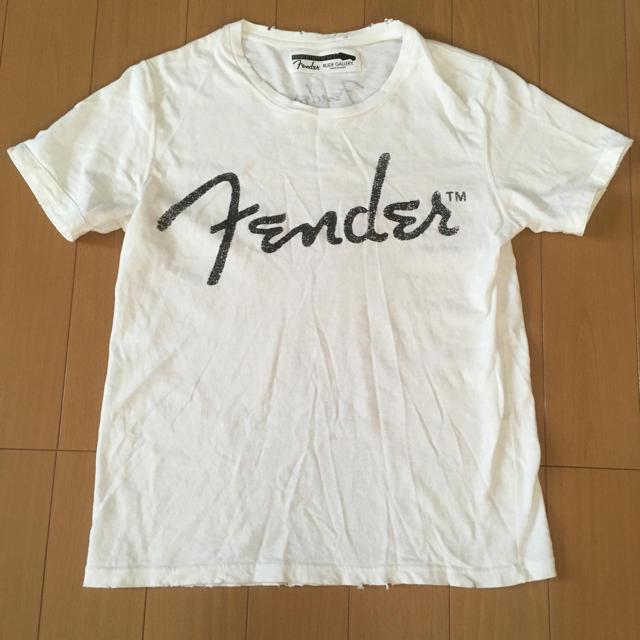 RUDE GALLERY(ルードギャラリー)のルードギャラリー × フェンダー Tシャツ ダメージ加工 メンズのトップス(Tシャツ/カットソー(半袖/袖なし))の商品写真