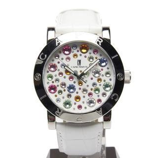 カプリウォッチ(CAPRI WATCH)の美品 カプリウォッチ 763 レディース 腕時計 ラインストーン(腕時計)