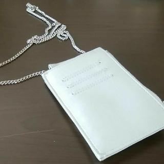 シマムラ(しまむら)のシルバーミニショルダー スマホ チケット(ショルダーバッグ)