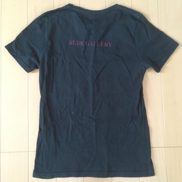 RUDE GALLERY(ルードギャラリー)のルードギャラリー  Tシャツ 黒 メンズのトップス(Tシャツ/カットソー(半袖/袖なし))の商品写真