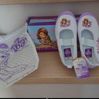 ディズニー(Disney)の新品ソフィア上靴 18(スクールシューズ/上履き)