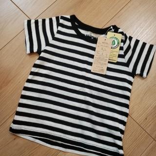 新品 オーガニックコットン Tシャツ(Tシャツ/カットソー)