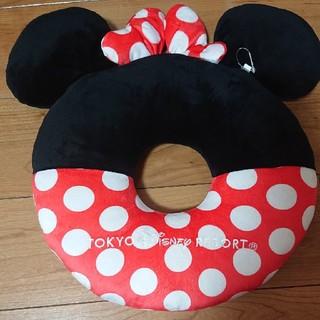 ディズニー(Disney)のミニー 円座クッション(未使用品)(クッション)