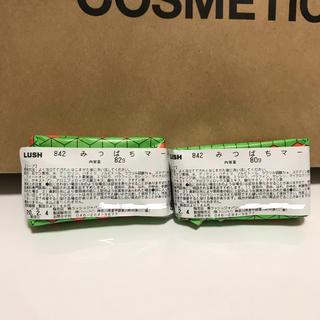 ラッシュ(LUSH)の新品未使用 LUSH ラッシュ みつばちマーチ ソープ 石鹸 162g相当(ボディソープ/石鹸)