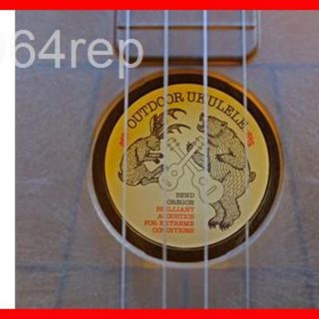 OUTDOOR UKULELE ( アウトドア ウクレレ ) Soprano B 楽器のウクレレ(その他)の商品写真