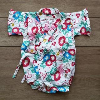 スヌーピー(SNOOPY)の80cm 浴衣 ロンパース(甚平/浴衣)