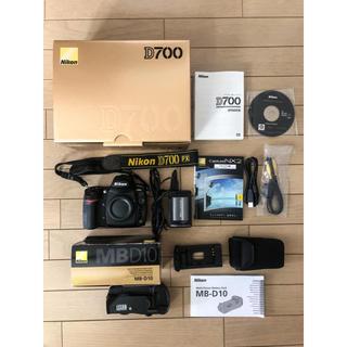 Nikon D700 & Nikon MB-D10