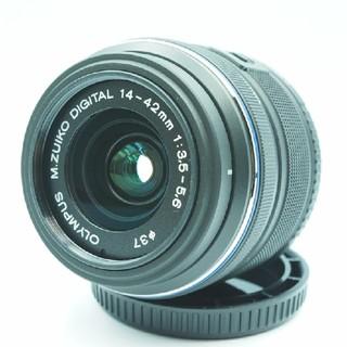 オリンパス(OLYMPUS)のM.ZUIKO DIGITAL 14-42mm F3.5-5.6 Ⅱ R(レンズ(ズーム))