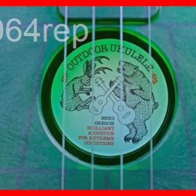OUTDOOR UKULELE ( アウトドア ウクレレ ) Soprano G 楽器のウクレレ(その他)の商品写真