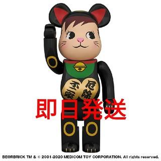MEDICOM TOY - BE@RBRICK 招き猫 ポコちゃん 黒 400%