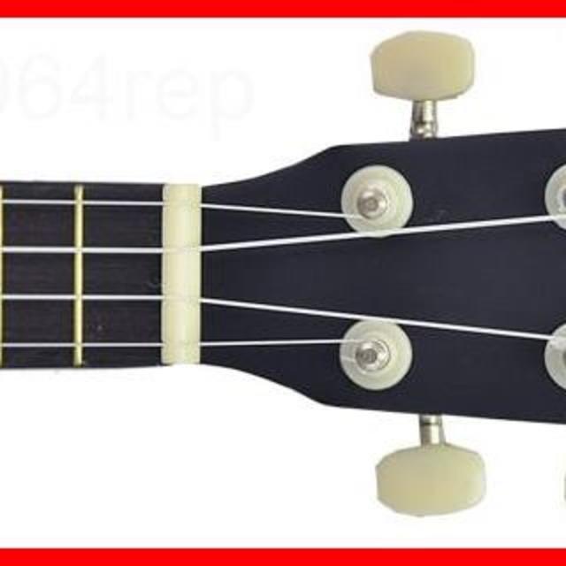 PLAYTECH ( プレイテック ) PUK100 Black 定番ソプラノウ 楽器のウクレレ(その他)の商品写真