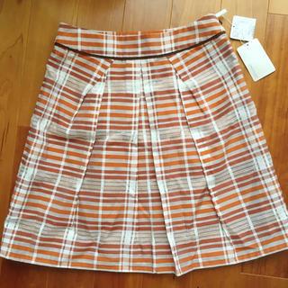 アンタイトル(UNTITLED)の【新品】 アンタイトル UNTITLED スカート(ひざ丈スカート)