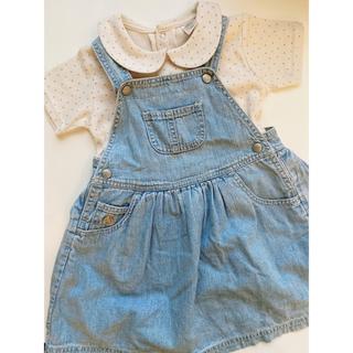 babyGAP - babyGAP ꕤ ブラナンベア付き ジャンパースカート