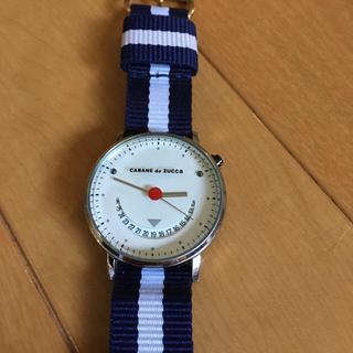 カバンドズッカ(CABANE de ZUCCa)のズッカ 腕時計 スマイル スノーマン(腕時計)