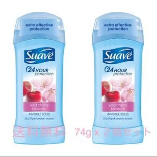 Unilever - 【本日限定セール‼】スアーブ ワイルド チェリー ブロッサム の香り 2本セット