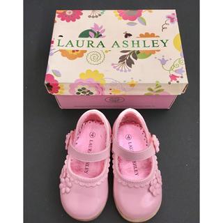 シャーリーテンプル(Shirley Temple)のローラアシュレイ フォーマルシューズ 12cm シャーリーテンプル ピンク 靴(フォーマルシューズ)