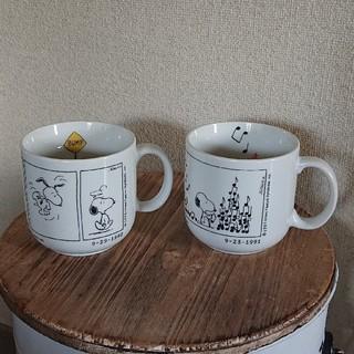 スヌーピー(SNOOPY)のSNOOPY スヌーピー BIG マグカップ 2個セット(グラス/カップ)