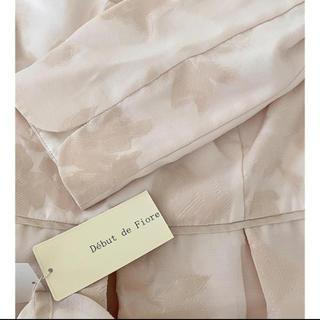 Debut de Fiore - 新品 Aライン切り替えフラワーワンピ ドレス